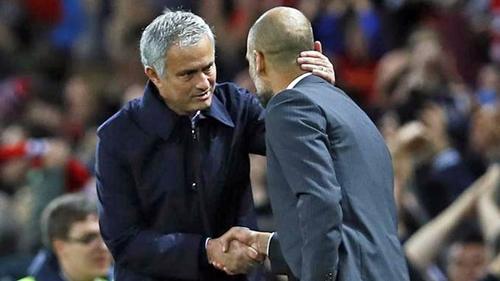"""Guardiola: """"Mourinho là hàng xóm và chúng tôi luôn chào hỏi khi gặp nhau"""""""