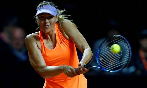Sharapova thắng trận thứ hai sau khi trở lại
