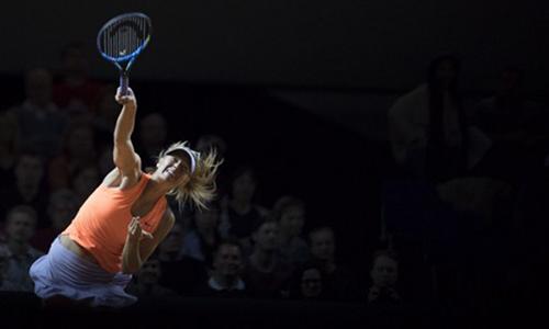 Sharapova vào bán kết Stuttgart Open
