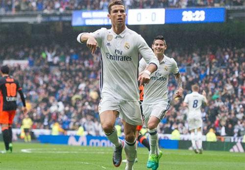 Real giành ba điểm dù Ronaldo đá hỏng phạt đền