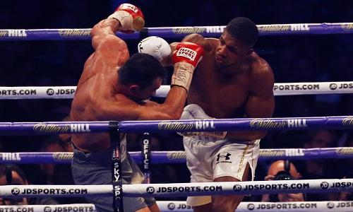 Joshua hạ knock-out Klitschko, thống nhất đai IBF và WBA