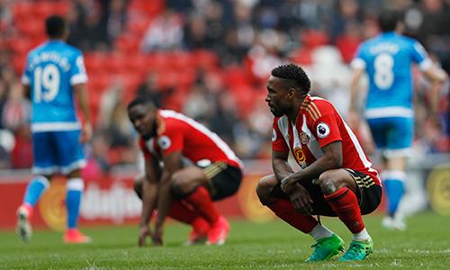 Sunderland chia tay Ngoại hạng Anh sau mười năm