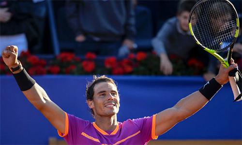 Nadal chơi trận chung kết thứ 10 ở Barcelona Mở rộng