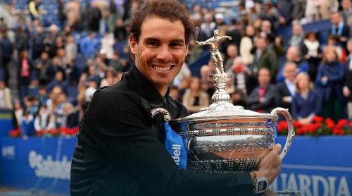 Nadal lập kỷ lục mười lần vô địch Barcelona Open