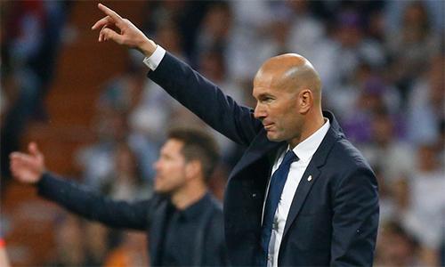 """Zidane: """"Tỷ số 3-0 phản ánh sự vượt trội của Real"""""""