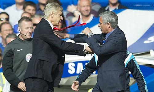 """Mourinho: """"Wenger không cần giảng hòa với tôi"""""""
