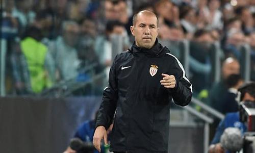 HLV của Monaco tâm phục khẩu phục trước Juventus