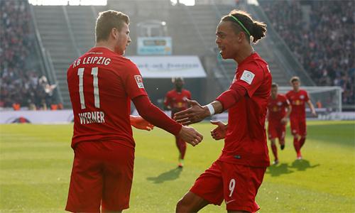 RB Leipzig nhận mưa tiền thưởng nhờ dự Champions League