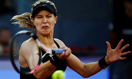 Bouchard đánh bại tay vợt số hai thế giới, vào tứ kết