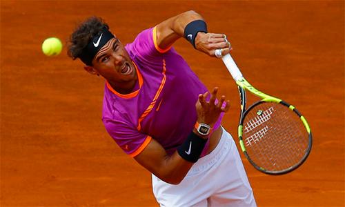 Djokovic, Nadal vượt khó vào vòng ba Madrid Mở rộng