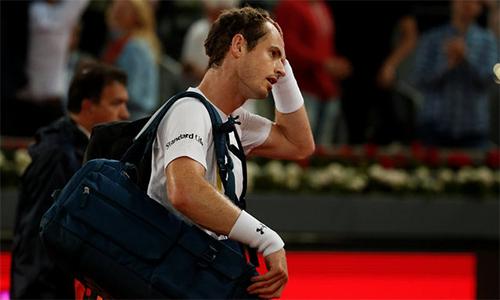 Murray nhận cú sốc ở Madrid Mở rộng