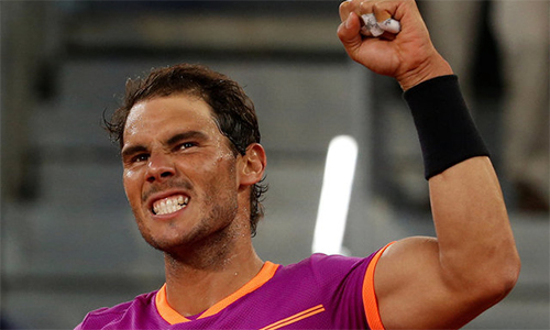 Djokovic, Nadal vào tứ kết Madrid Mở rộng
