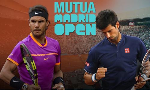 Djokovic đại chiến Nadal tại bán kết Madrid Mở rộng
