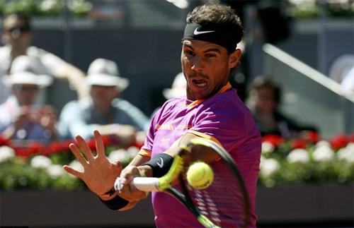 Nadal xử gọn Djokovic, vào chung kết Madrid Mở rộng