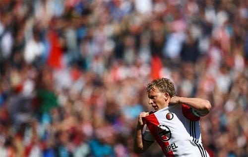 Cựu sao Liverpool giúp Feyenoord vô địch Hà Lan lần đầu sau 18 năm