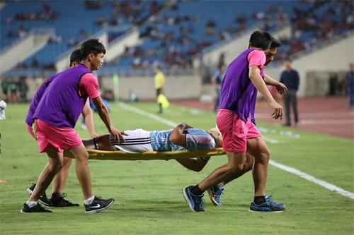 Trụ cột U20 Argentina phải nghỉ ít nhất hai tuần vì chấn thương