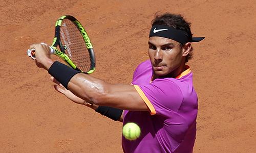 Nadal khởi đầu Rome Masters thuận lợi nhờ đối thủ bỏ cuộc
