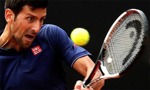 Djokovic khởi đầu chật vật ở Rome Masters