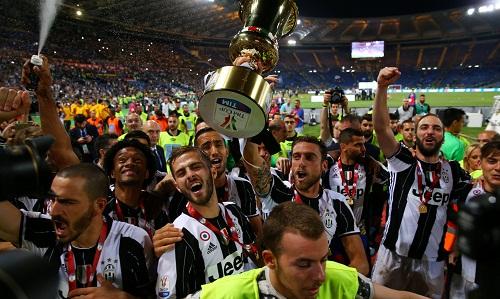Juventus năm thứ ba liên tiếp đoạt Cup Italy
