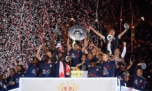 Monaco lần đầu vô địch Ligue 1 sau 17 năm