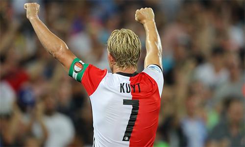 Dirk Kuyt giải nghệ sau khi giúp Feyenoord vô địch Hà Lan