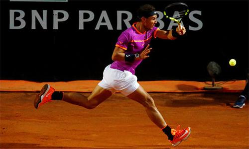 Nadal nối dài chuỗi bất bại, vào tứ kết Rome Masters