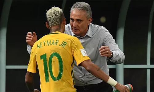 Neymar vắng mặt trận giao hữu Brazil - Argentina