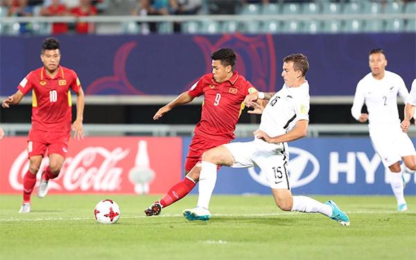 Việt Nam giành điểm đầu tiên tại World Cup U20