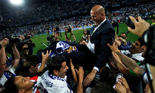 """Zidane: """"Chìa khóa thành công là Real Madrid quá tuyệt vời"""""""