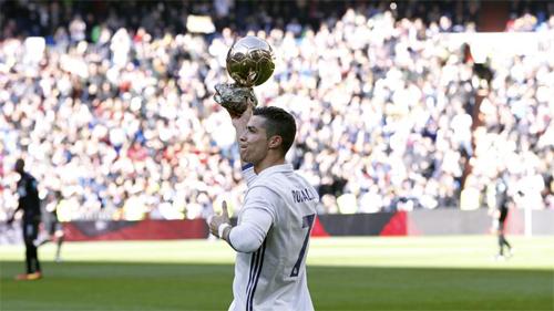 Ronaldo là ứng cử viên sáng giá nhất đoạt Quả Bóng Vàng