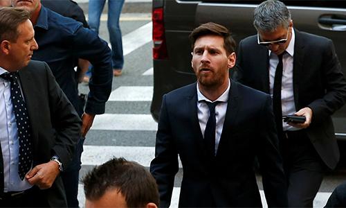 Messi bị bác đơn kháng cáo tội trốn thuế