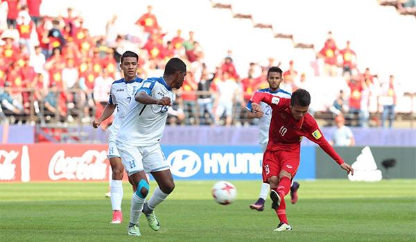 Video: U20 Honduras vs U20 Việt Nam
