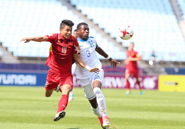 Việt Nam thua Honduras, dừng bước tại World Cup U20