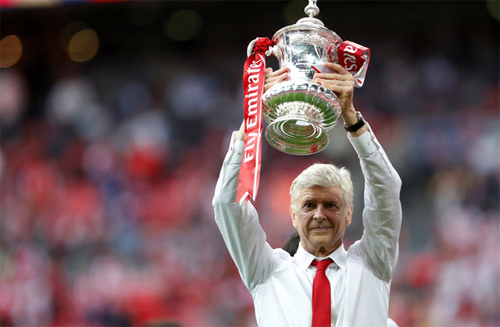 Tấm huy chương của Wenger