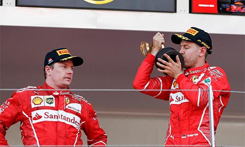 Vettel về nhất, Ferrari lần đầu thắng GP Monaco sau 16 năm