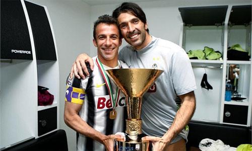 """Del Piero: """"Buffon phát điên vì Champions League"""""""