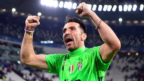 Buffon lập kỷ lục độ tuổi nếu vô địch Champions League