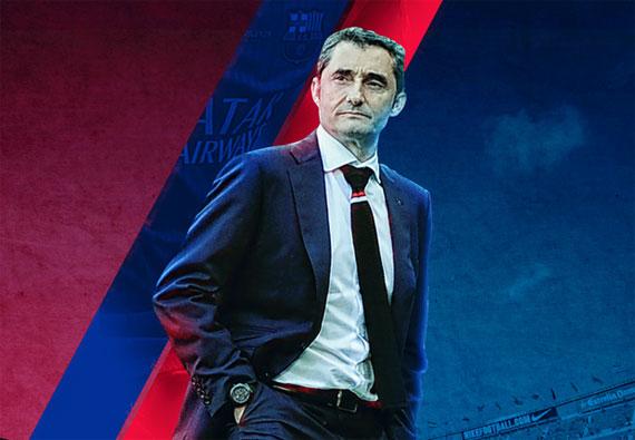 Valverde được bổ nhiệm làm HLV Barca