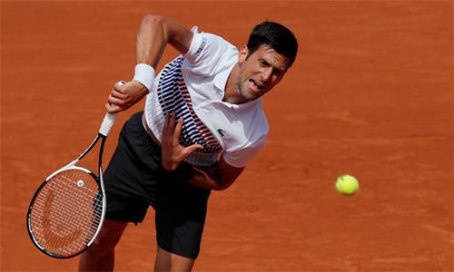 Djokovic vào vòng ba Roland Garros, Tsonga bị loại