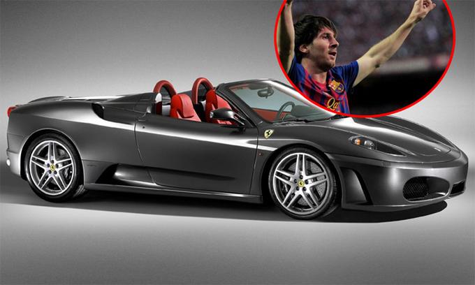 Messi chỉ cần 31 phút thi đấu để mua chiếc Ferrari F430 Spider