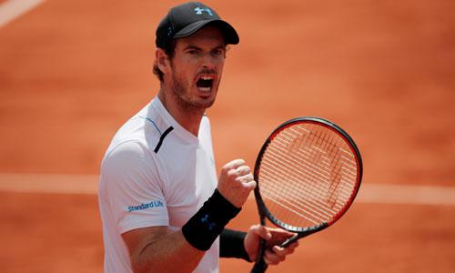 Murray vào tứ kết Roland Garros