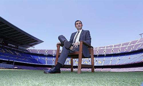 """Valverde: """"Tôi muốn thắng mọi trận đấu cùng Barca"""""""