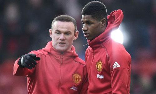 """Rashford: """"Rooney còn lâu mới hết thời"""""""