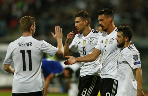 Đức đè bẹp San Marino với tỷ số 7-0