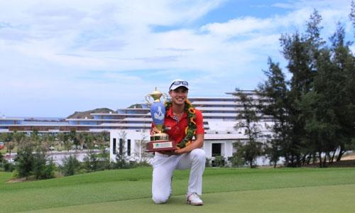 Golfer Singapore vô địch VAO 2017