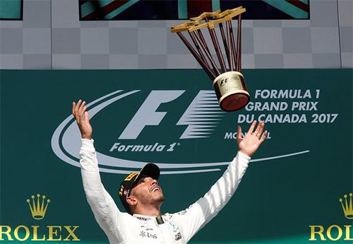 Lewis Hamilton đại thắng tại Grand Prix Canada