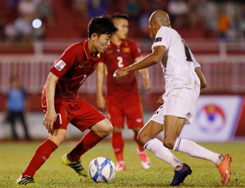 Việt Nam chia điểm với Jordan tại vòng loại Asian Cup