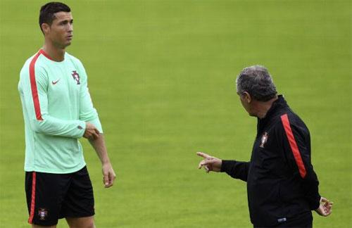 """HLV tuyển Bồ Đào Nha: """"Tôi tin vào sự chính trực của Ronaldo"""""""