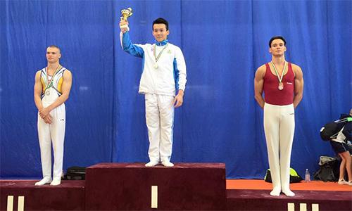 Thể dục dụng cụ Việt Nam đoạt bốn HC vàng tại Cup Thế giới trẻ - ảnh 1