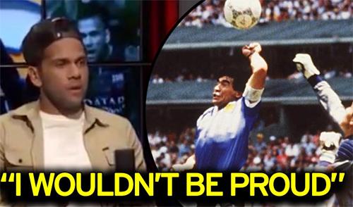 Maradona: Dani Alves là một thằng ngốc - ảnh 1